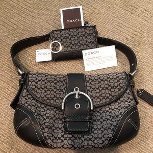 Coach Signature Collection hobo bag & change purse